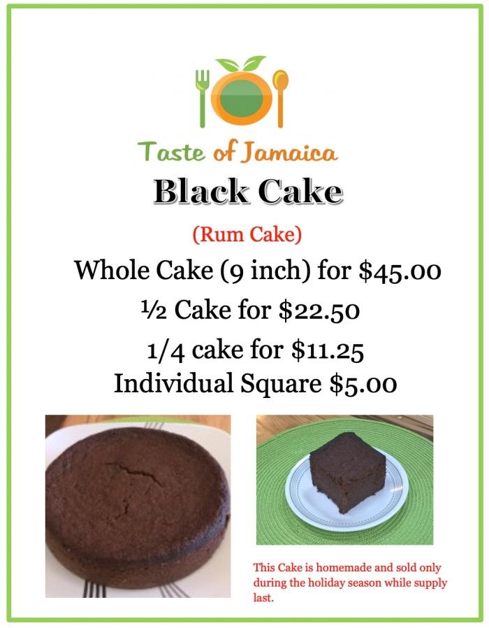 Black Cake Ad